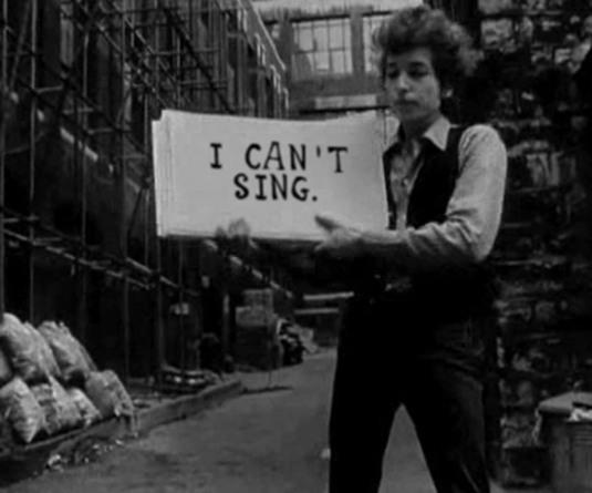 Bob Dylan e Allen Ginsberg - Eu não posso cantar